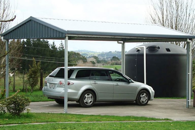 Single-gable-carport