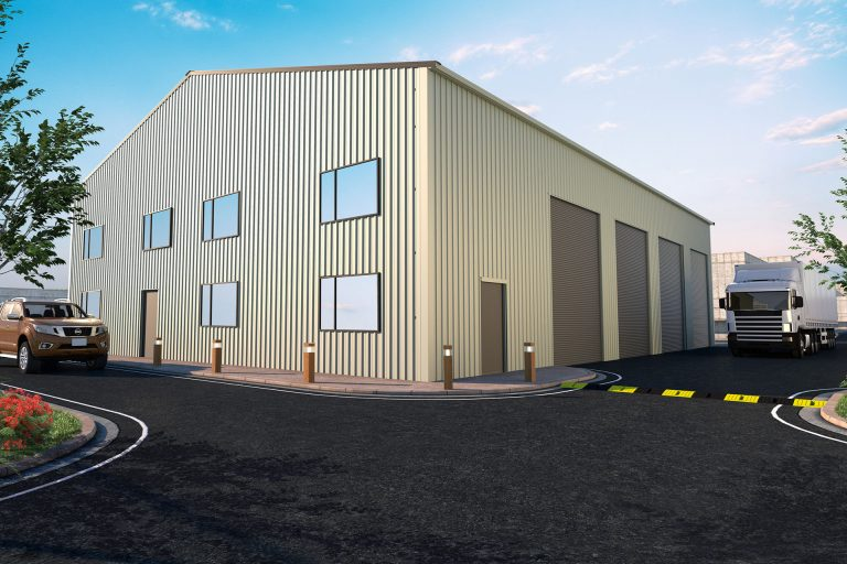Retail Steel Building | Steel Sheds Australia