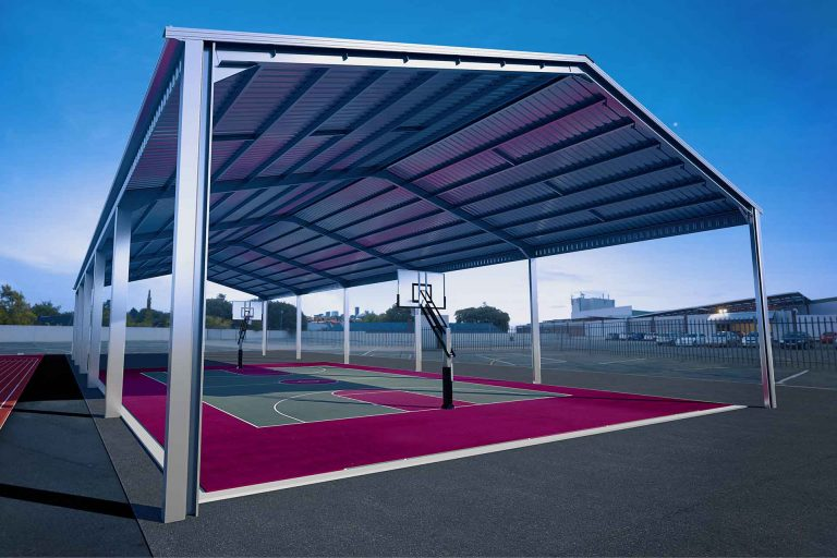 Commercial Covers   Steel Sheds Australia